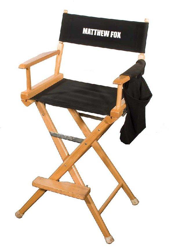 "Set chair for Matthew Fox ""Jack"""