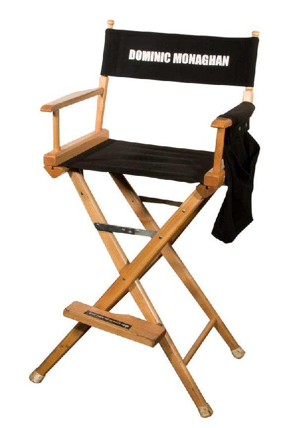 "Set chair for Dominic Monaghan ""Charlie"""