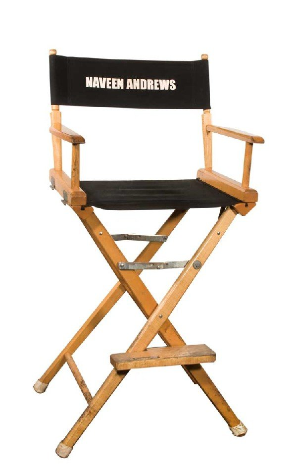 "Set chair for Naveen Andrews ""Sayid"""