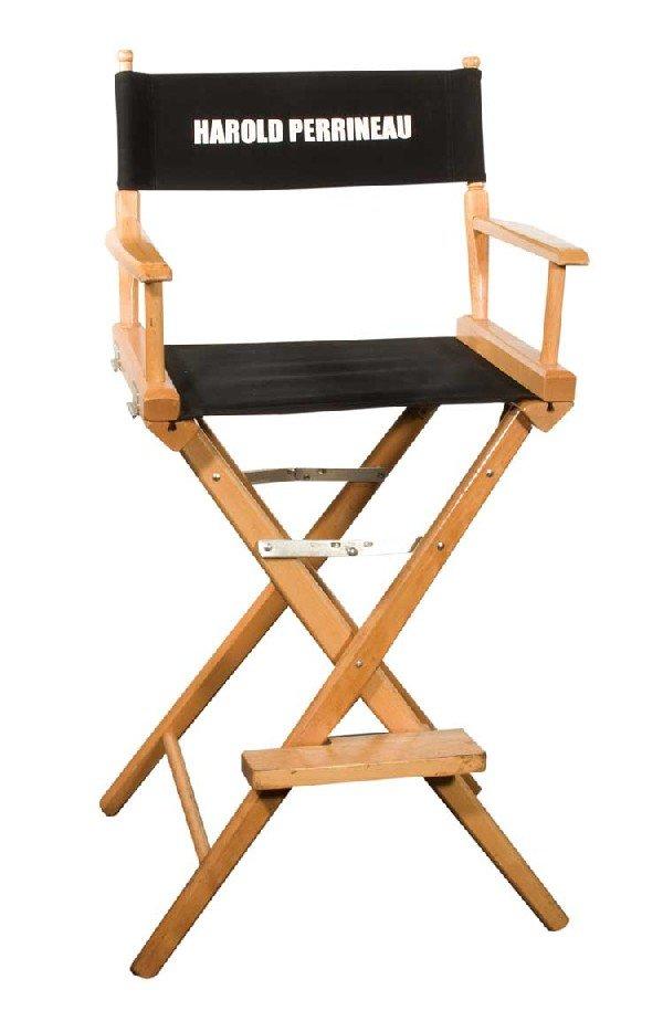 "Set chair for Harold Perrineau ""Michael"""