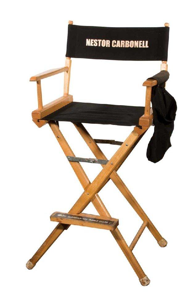 """Set chair for Nestor Carbonell """"Richard Alpert"""""""