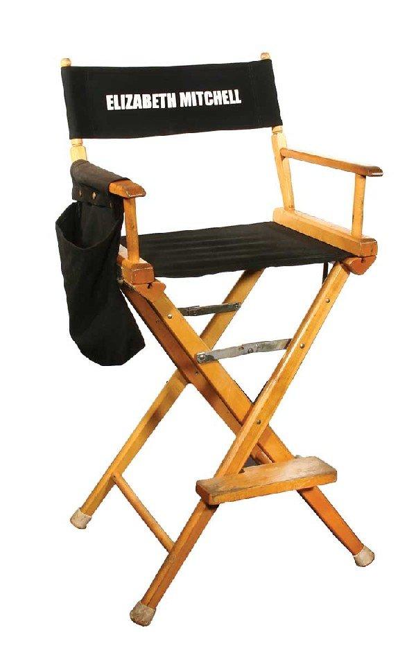 """Set chair for Elizabeth Mitchell """"Juliet"""""""