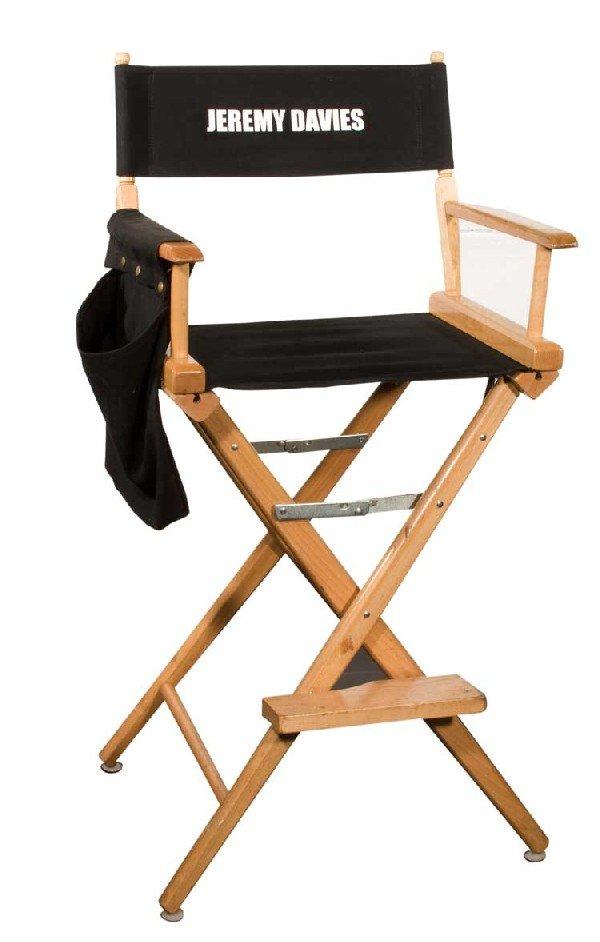 "Set chair for Jeremy Davies ""Faraday"""