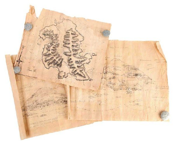Collection of Rousseau's maps