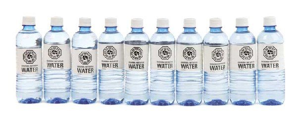 Collection of 25+ DHARMA-branded water bottles