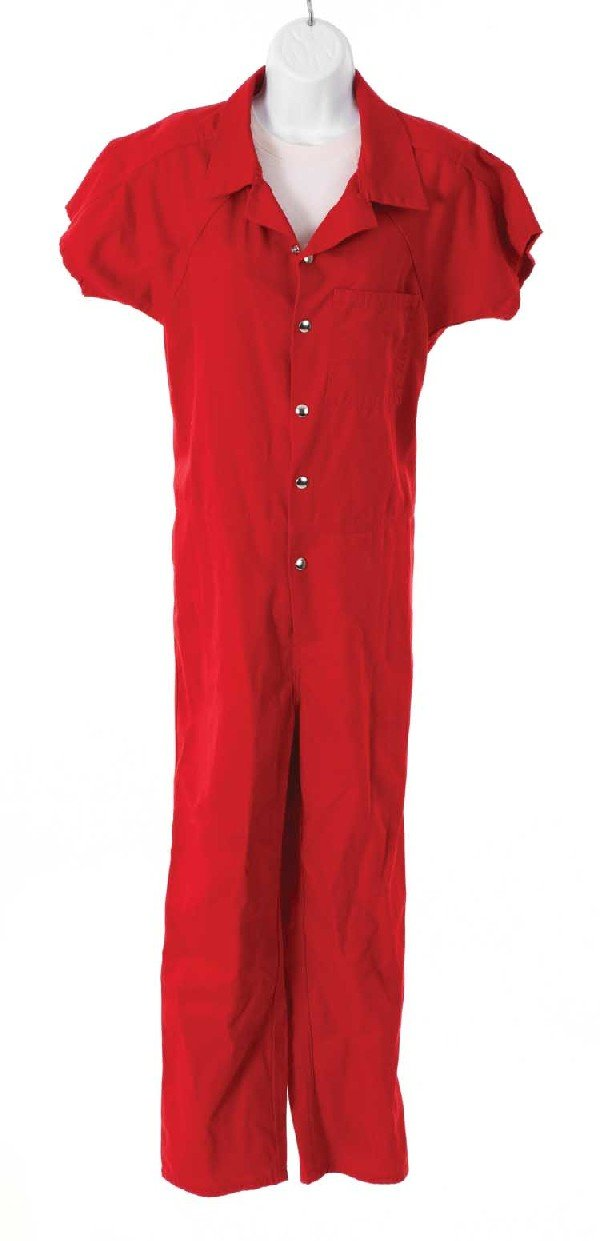 """Kate's prison jumpsuit from the episode, """"Eggtown"""""""