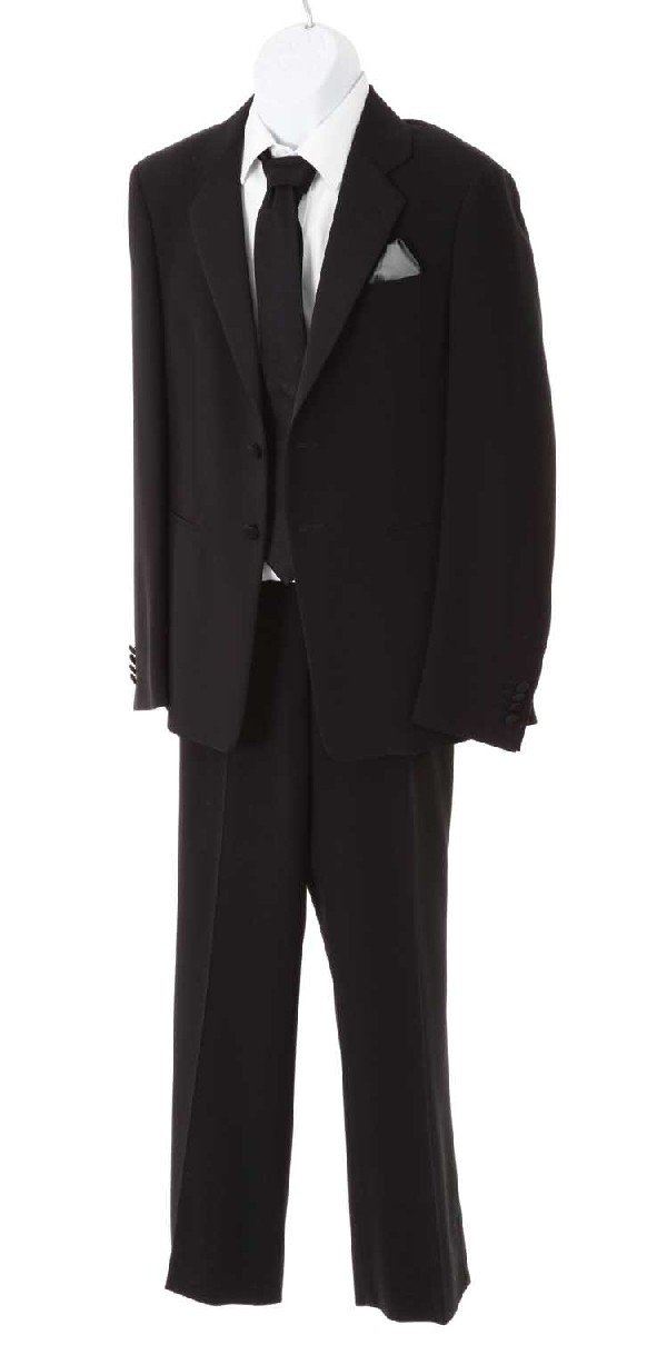 """Sayid's black suit from the episode, """"The Economist"""""""