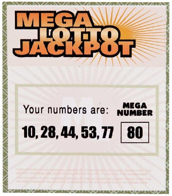 Hurley's flash-sideways Mega Lotto Jackpot ticket