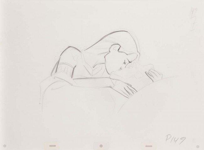 5: Glen Keane & John Pomeroy Disney Pocahontas drawings
