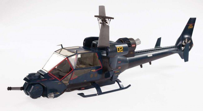 1130: Hero Blue Thunder miniature helicopter