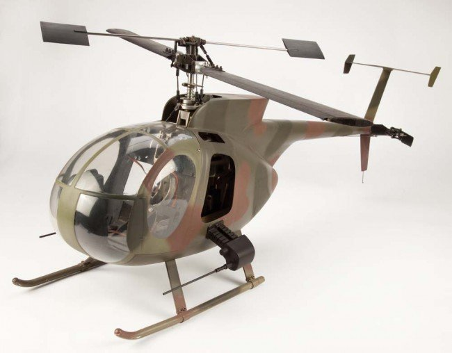 1130: Hero Blue Thunder miniature helicopter - 2