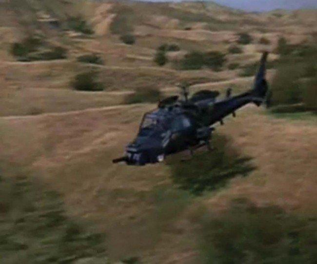 1130: Hero Blue Thunder miniature helicopter - 3