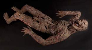 """1133: Scorched body of Joel Polis """"Fuchs"""" frm The Thing"""