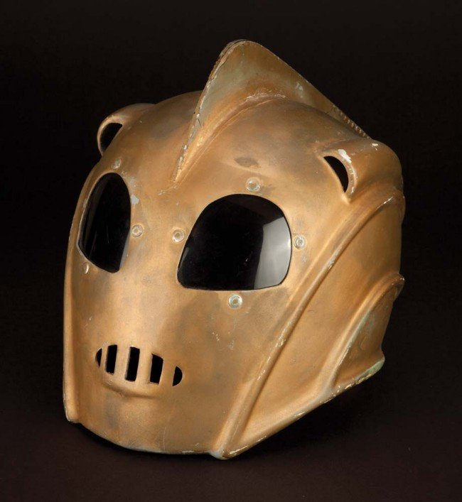 1203: Original stunt flying helmet from The Rocketeer