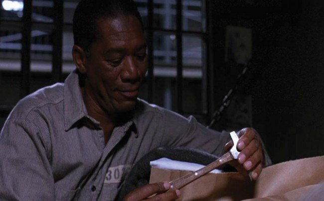"""1572: Shawshank Redemption """"Andy Dufresne"""" escape tools - 2"""