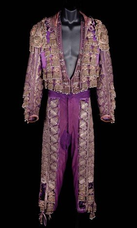 Rudolph Valentino matador outfit from Blood and Sand