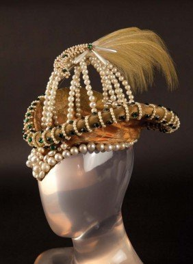 Clare Eames hat from Dorothy Vernon of Haddon Hall