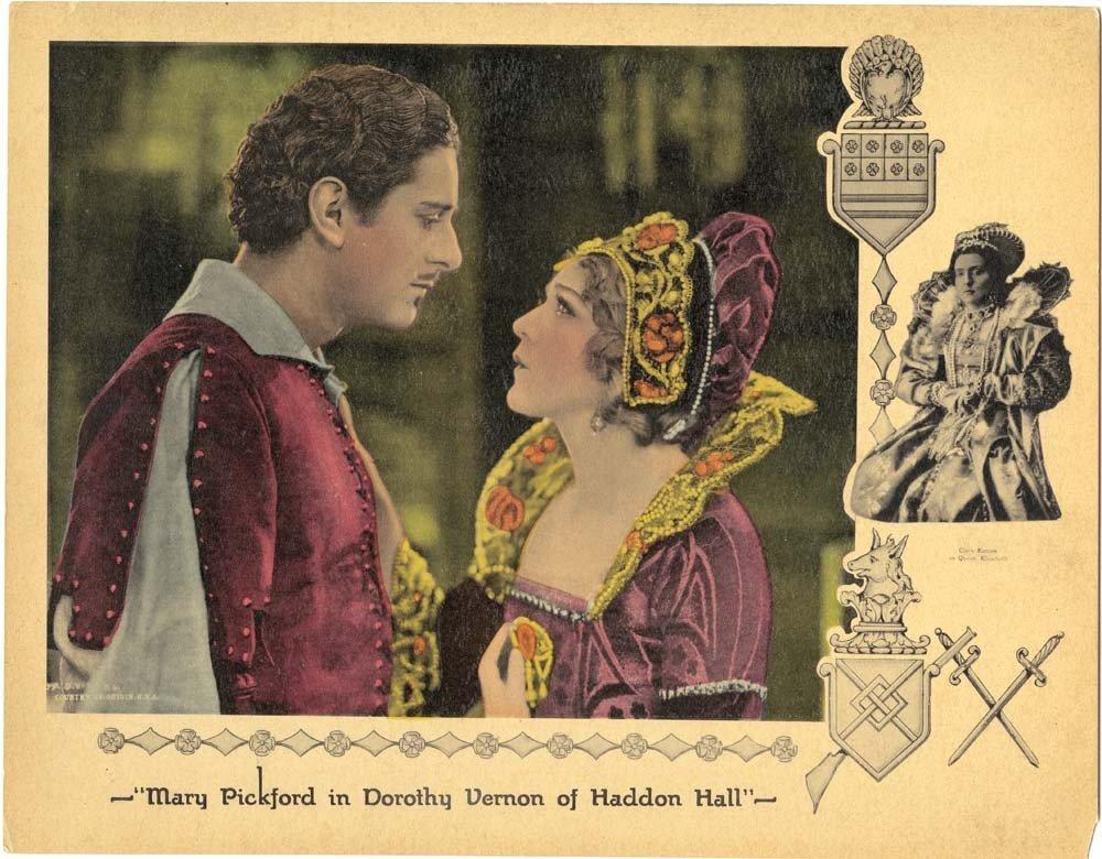 Dorothy Vernon of Haddon Hall pair of lobby cards