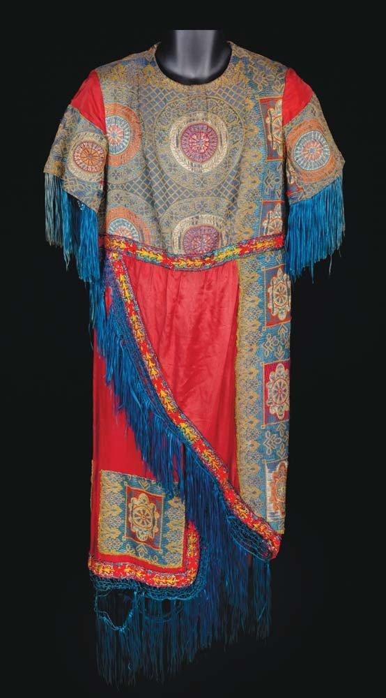 Elaborate dress tunic attributed to Ben-Hur