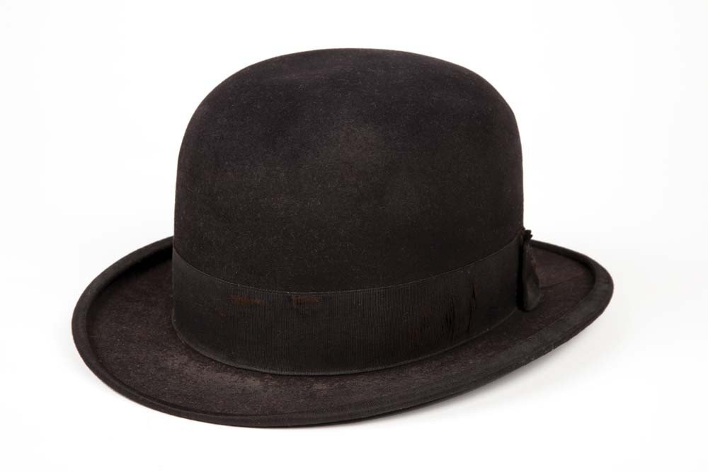 Charlie Chaplin bowler hat from numerous productions
