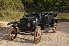 1918 Ford Model T Used In Laurel & Hardy Films