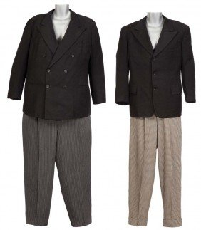 Stan Laurel and Oliver Hardy signature suits Jitterbug