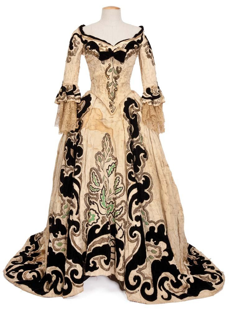 Norma Shearer two-piece gown from Marie Antoinette