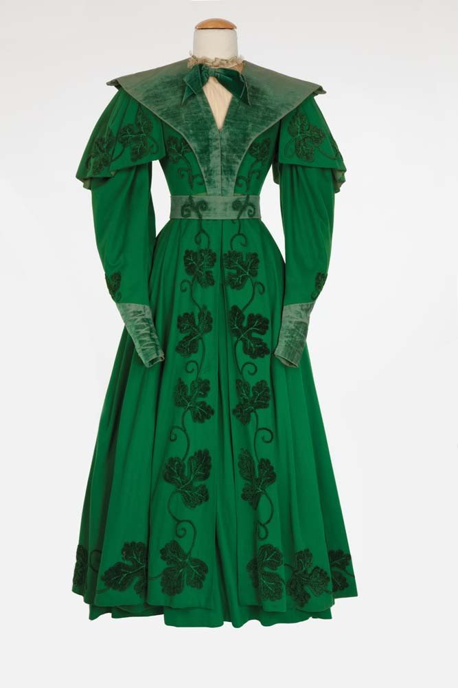 Ann Rutherford period dress from Pride and Prejudice