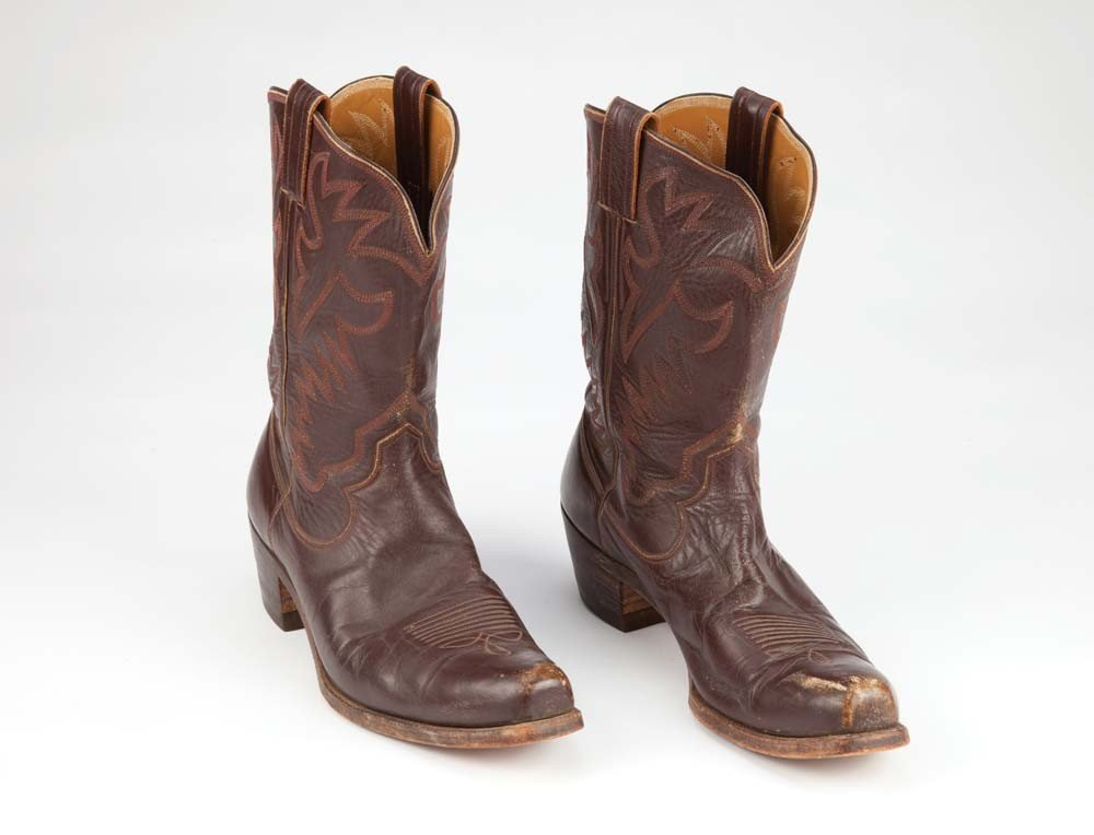 Glenn Ford's personal cowboy boots and cowboy hats - 2