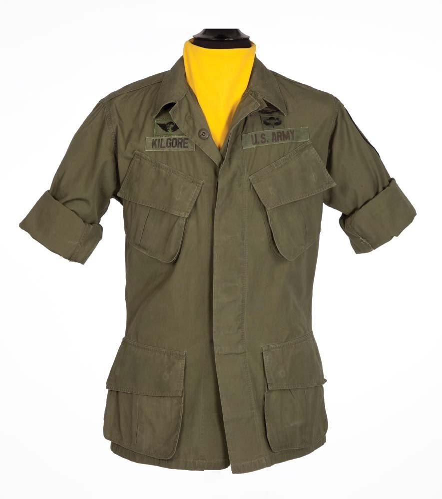 Robert Duvall coat and branch scarf from Apocalypse Now