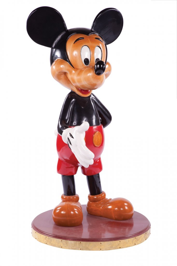 271: Artist's proof large Mickey standing figure