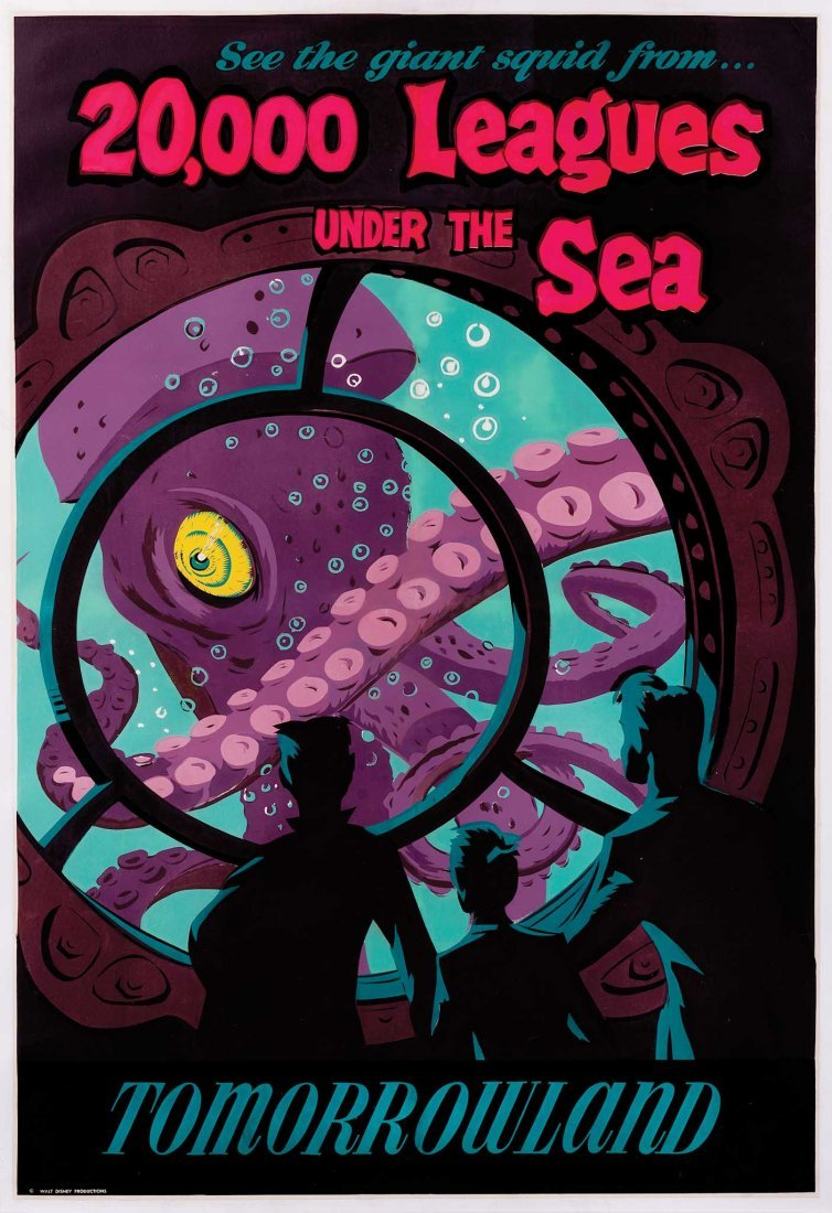 2: 20,000 LEAGUES UNDER THE SEA ATTRACTION POSTER