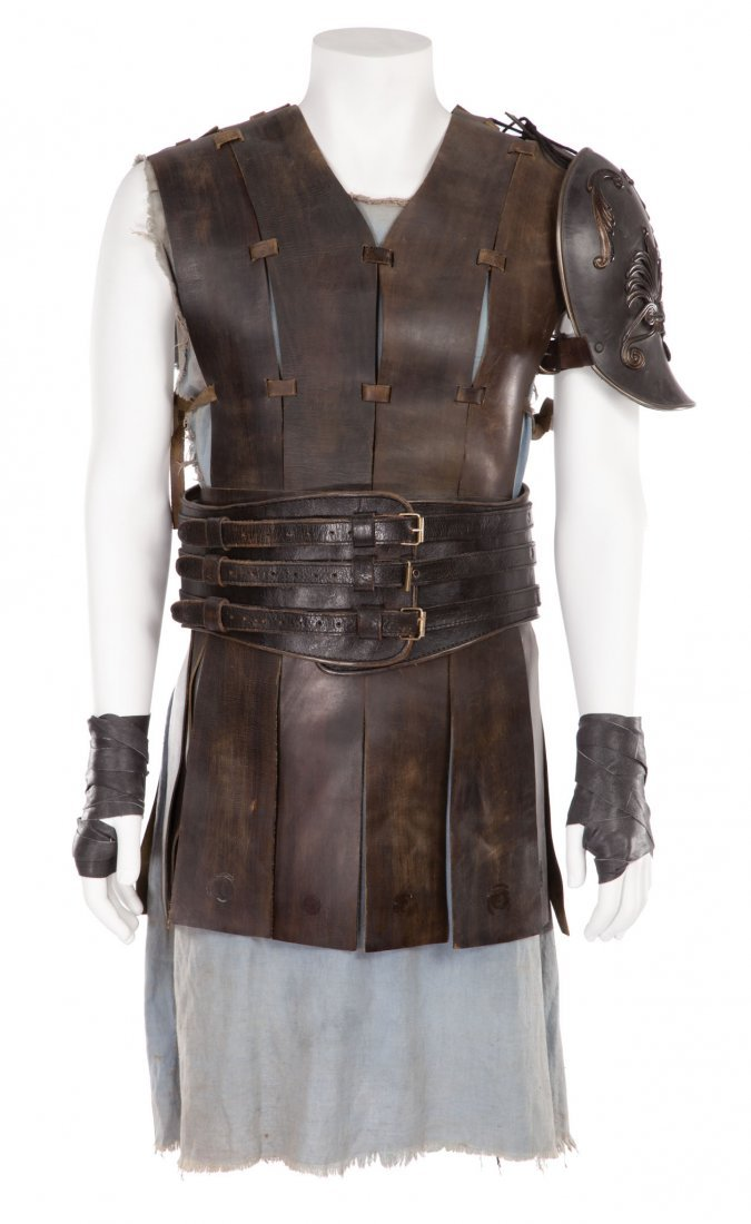 """20: RUSSELL CROWE """"MAXIMUS"""" CHEST ARMOR FROM GLADIATOR"""
