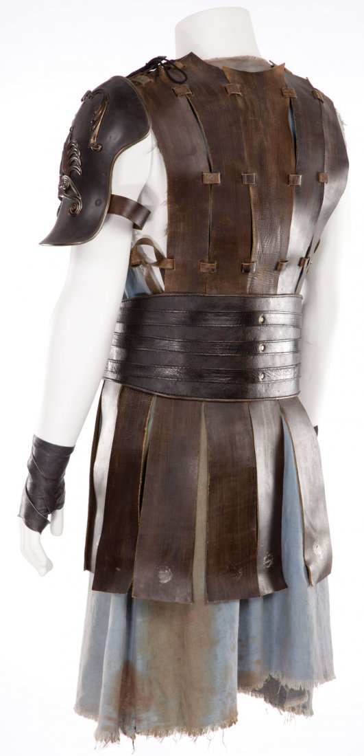 """20: RUSSELL CROWE """"MAXIMUS"""" CHEST ARMOR FROM GLADIATOR - 2"""