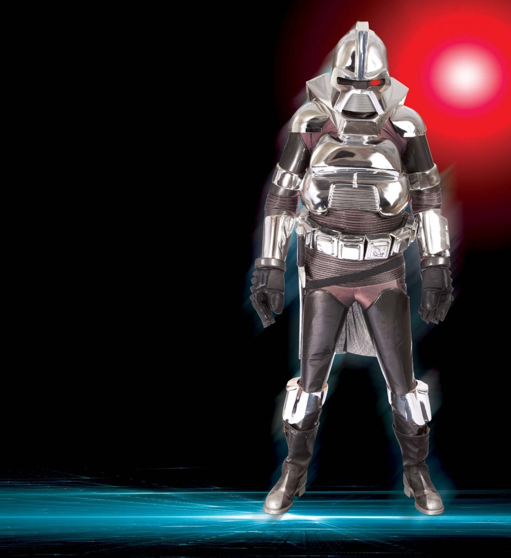 44: COMPLETE CYLON COSTUME FROM BATTLESTAR GALACTICA