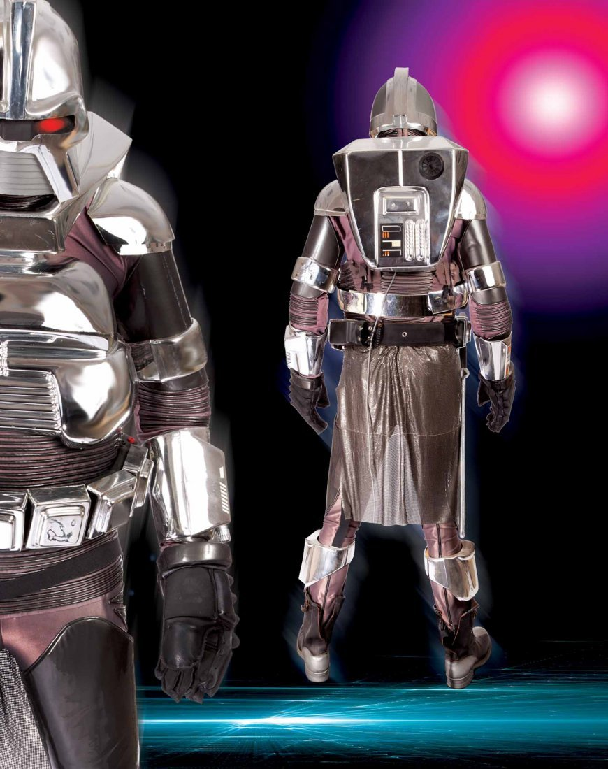 44: COMPLETE CYLON COSTUME FROM BATTLESTAR GALACTICA - 2