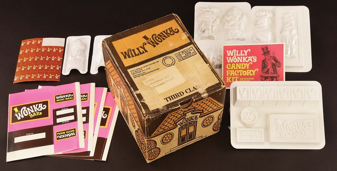 WILLY WONKA & CHOCOLATE FACTORY PROMO CANDY KIT