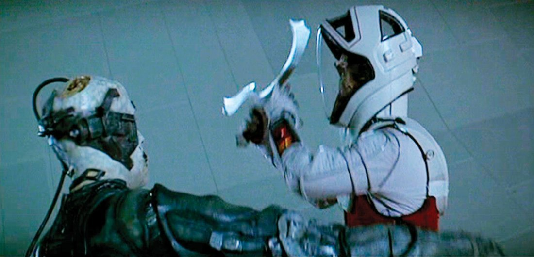 225: STAR TREK: 1ST CONTACT MEK'LETH KLINGON STNT SWORD - 2