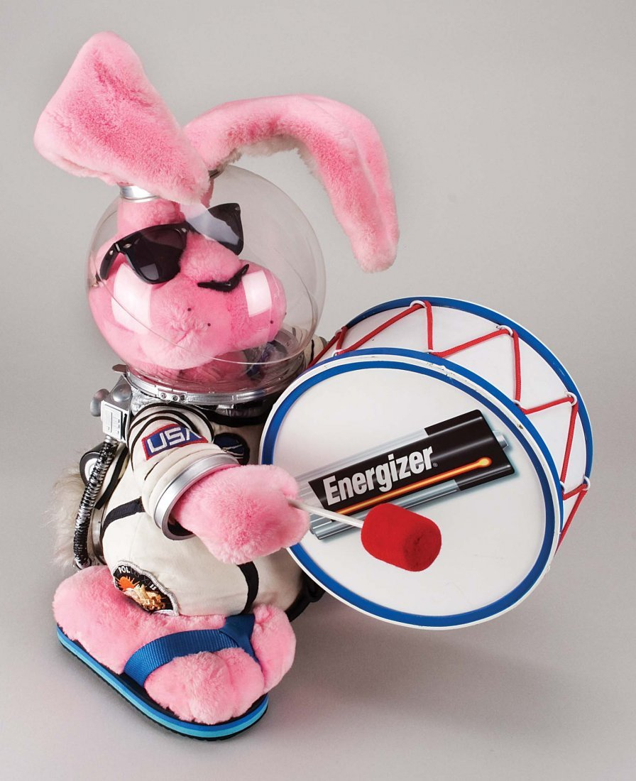 252: ENERGIZER BUNNY FROM TV COMMERCIALS OF 1980S & 90S