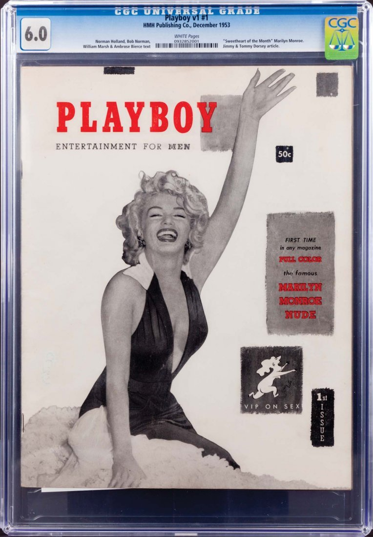 253: FIRST ISSUE OF PLAYBOY MAGAZINE, DECEMBER 1953