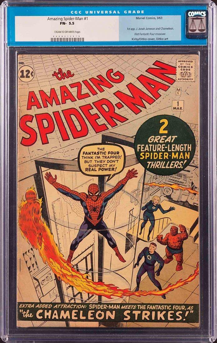 341: AMAZING SPIDERMAN COMIC #1