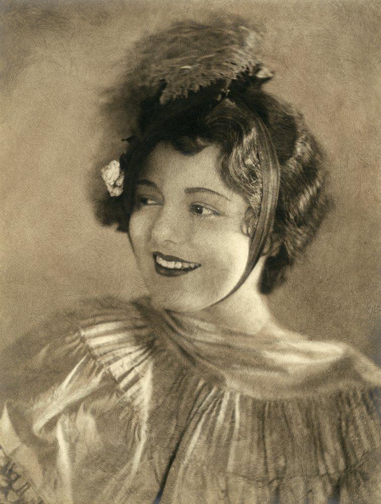 3: PORTRAIT OF JANET GAYNOR BY WILLIAM MORTENSEN