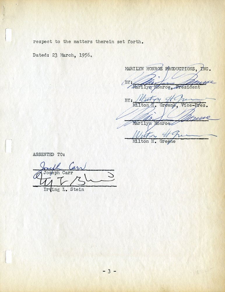 149: MONROE CONTRACT FOR W.B. LOAN FOR ACQUISITION