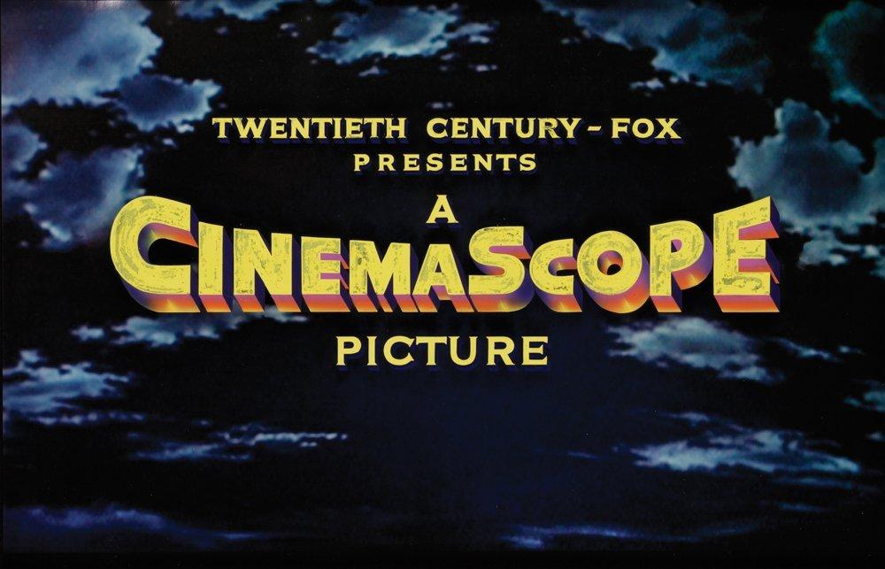 "330: 20TH CENTURY-FOX ""PRESENTS IN CINEMASCOPE"" CAM ART"