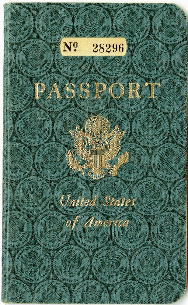 552: JACK HALEY TWICE SIGNED PASSPORT