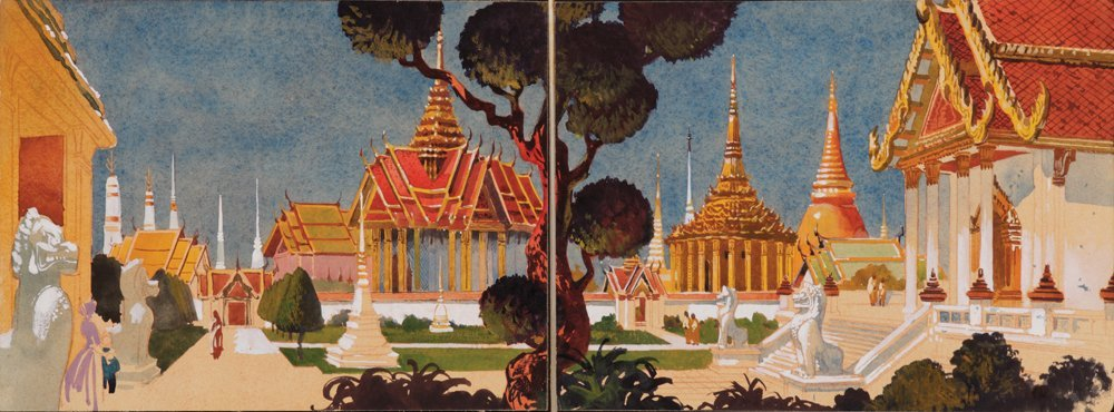 574: ANNA & THE KING OF SIAM PRODUCTION DESIGN PANELS