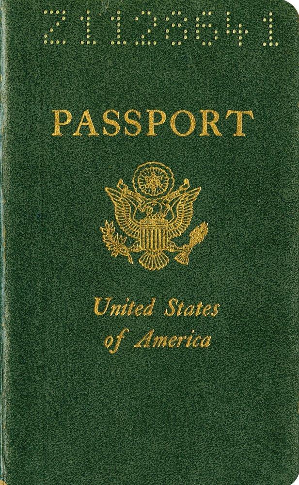 667: STEVE MCQUEEN U.S. PASSPORT USED DURING FILMING