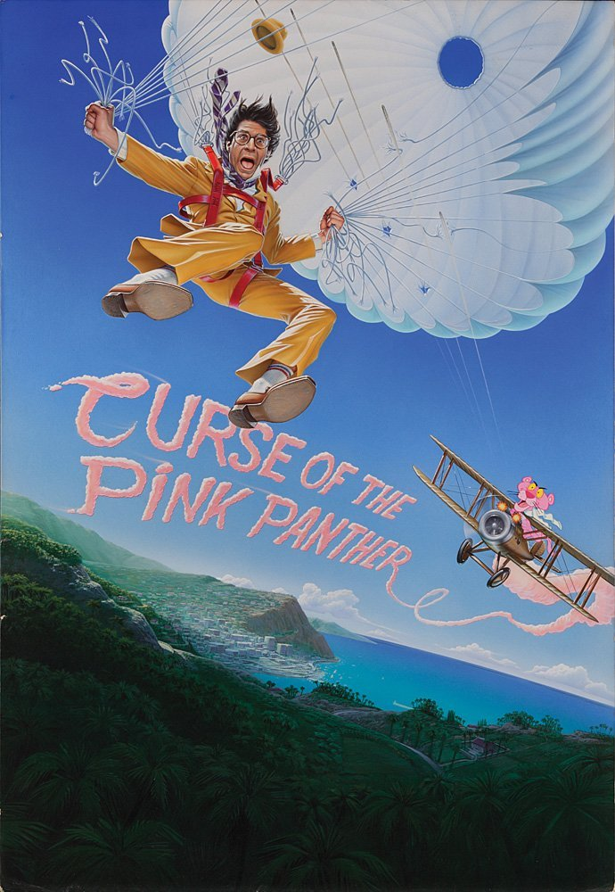 748: CURSE OF THE PINK PANTHER POSTER ART BY JOHN ALVIN