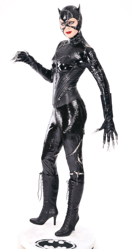 sc 1 st  LiveAuctioneers & 800: MICHELLE PFEIFFER u201cCATWOMANu201d SCREEN-USED CAT-SUIT