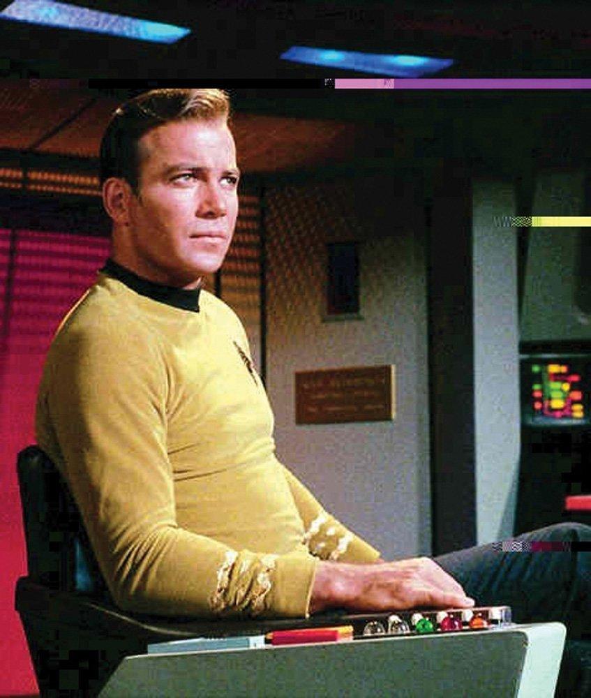 "909: STAR TREK SERIES WILLIAM SHATNER ""CPT. KIRK"" TUNIC - 3"